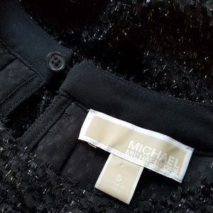 Michael Kors Tops - Michael Kors Sheer Black Sleeveless Top Size Small